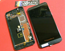 DISPLAY LCD touchscreen completo per BlackBerry Z10 4G vetro touch nero FRAME