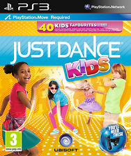 Just Dance Kids PS3 Move Juego * En Excelente Estado *