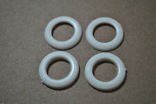 AMT 1/25 1965 FORD MUSTANG 427 RACING FRONT DRAG TIRES - 4 TOTAL PARTS!