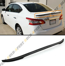 JDM SPORT STYLE REAR TRUNK SPOILER WING LIP FOR 2013-2016 NISSAN SENTRA SEDAN