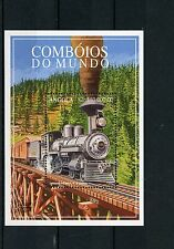 Angola 1997 MNH Trains of World 1v SS I Railways Züge Trenes Treni Chemin de Fer