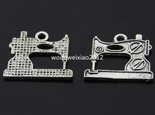 12pc Tibetan Silver sewing machine Charm Pendant accessories beads  PL344