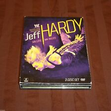 WWE: Jeff Hardy - My Life My Rules (DVD, 2009, 3-Disc Set) WWF TNA