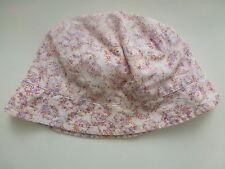 *** Chapeau/Hat 12/18 mois Taille 47 cm   Motif Liberty