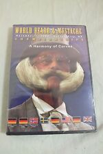 World Beard & Mustache Champions 2003 A Harmony of Curves DVD NEW Fast Shipping