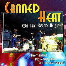 "CANNED HEAT ""On The Road Again"" Top Album CD NEU & OVP"