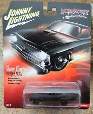 1:64 Johnny Lightning *MURDER NOVA STREET OUTLAWS* 1969 Chevy Nova Drag Car NIP