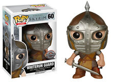 "EXCLUSIVE SKYRIM THE ELDER SCROLLS V WHITERUN GUARD 3.75"" POP VINYL FIGURE FUNKO"