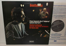 SXL 6655 Beethoven Piano Concerto No.5 Ashkenazy Chicago Sym Orc Sir Georg Solti