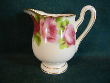 "Royal Albert Old English Rose Large 3 3/4"" Creamer"