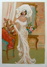 """ISAAC MAIMON """"CANDIDE"""" Hand Signed Limited Edition Serigraph"""