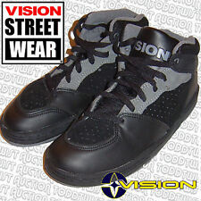 VISION STREET WEAR MS19000 '80s Skateboard Shoes - UK 8 / 9 USA - Tremors Black