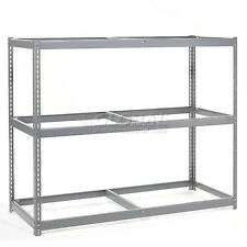 "Wide Span Rack 72""W X 24""D X 84""H With 3 Shelves No Deck 900 Lb Capacity Per ..."