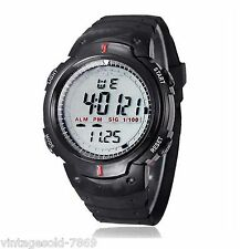 "New Waterprof Men Boy""s Digital LED Quartz Alarm Date Sports Watch*TIMIX BRANDED"