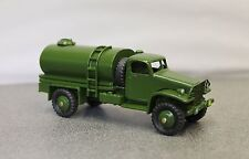 Dinky B & B (British Army) Chevrolet 4 X 4 Military Water Bowser Code 3