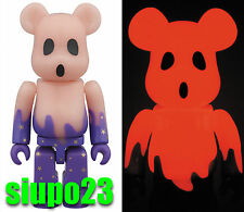 Medicom 100% Bearbrick ~ Happy Halloween 2015 Be@rbrick Red GID Ver