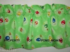 LINED VALANCE 42X12 M&M M & M GANG CANDY EASTER EGG HUNT BASKET EARS LILY