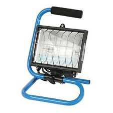 Portable 150W Halogen Flood Light Work Site Lamp Hand Held Adjustable with Stand