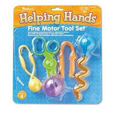 Learning Resources Helping Hands Fine Motor Tool Set New
