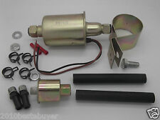 Universal Low Pressure External Electrical Fuel Pump & Installation Kits E8012S