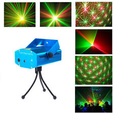Mini R&G Projecteur Laser de Noël l Disco DJ Lumiere Eclairage Xmas Party Show