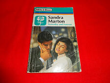 YESTERDAY AND FOREVER  BY  SANDRA MARTON  (MILLS & BOON VINTAGE)^
