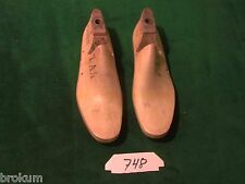 VINTAGE PAIR Wooden Size 7AA LOAFER WOODRIGHT Shoe Factory Last Mold  #748