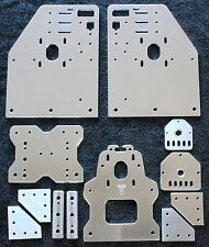 OX CNC Gantry Plates with Threaded Rod plates, 3W Spacers and 5-hole joiners