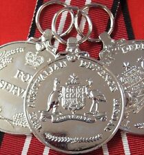 10 x THE AUSTRALIAN DEFENCE MEDALS ARMY NAVY AIR FORCE REPLICA 4 YEARS SERVICE