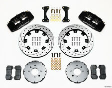 Honda Civic,CRX,Del Sol Dynapro 6 Drilled Front Big Brake Kit by Wilwood..