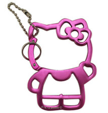 New Sanrio HELLO KITTY Metal Keychain - Key Ring cellphone pendant # Pink