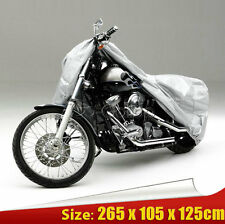 XXL Sliver Outdoor Motorcycle Cover For Honda VTX 1300 1800 C R S RETRO Cruiser