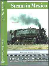 STEAM IN MEXICO NKP FEC CNW SUNDAY RIVER PRODUCTIONS NEW DVD-R
