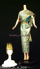 Cambodia Fashion for Barbie Doll Cambodian Traditional Asian Ensemble