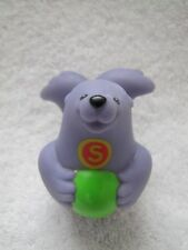 "PURPLE SEAL ""S"" Fisher Price Little People Alphabet ZOO A-Z Learning Zoo Rare!"