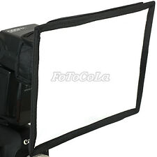universal 15cm x 20cm foldable flash diffuser softbox soft box for 430EX 580EX