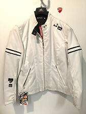 DUCATI GIACCA JACKET LADY MONSTER BIANCA DONNA SIZE S