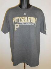 NEW PITTSBURGH PIRATES  MENS LARGE L MAJESTIC SHIRT 65HB