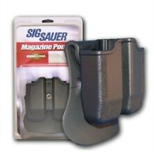NEW! Sig DBL Mag Pouch P229 357SIG 40SW P250 9MM 357 Model# MAGPDBL22943BLK