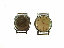 Lot Old Mechanical Russian Wristwatches ZIM ZYM 3YM Spares or Repair Nr 4630