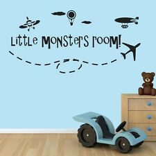 Little monsters room wall stickers Decal Removable Art Vinyl Decor Large kids Au