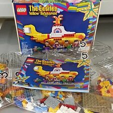 LEGO 21306 Yellow Submarine Beatles BRAND NEW - NO MINIFIGURES - Sub only w/box