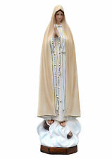 Our lady of Fatima resin statue cm. 60
