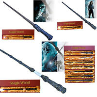 LED Light Harry Potter Hermione Dumbledore Magic Magical Wand  +Tattoo +Gift Box