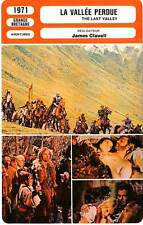 FICHE CINEMA : LA VALLEE PERDUE - Caine,Sharif,Clavell 1971 The Last Valley
