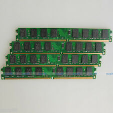 High Density 8GB 4x2GB PC2-5300 DDR2 667 667Mhz 240PIN DIMM Desktop memory RAM
