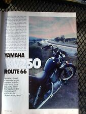 Sept 1988 Cycle Mag-Road Tests-Yamaha XV250 Route 66 - Honda VT1100C Shadow