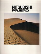 Mitsubishi Pajero Colour & Trim 1992 Export Markets Brochure In English Shogun