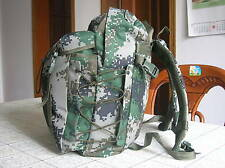 07's series China PLA Special Forces Woodland Digital Camo Assault Backpack