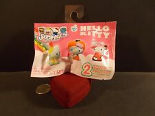 SQUINKIES FOIL PACK HELLO KITTY 2 RANDOM FIGURE NIP
